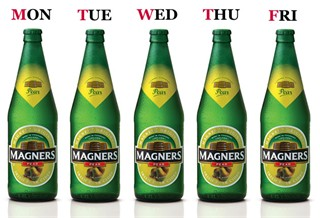 Win A Case Of Magners Pear Every Day This Week!